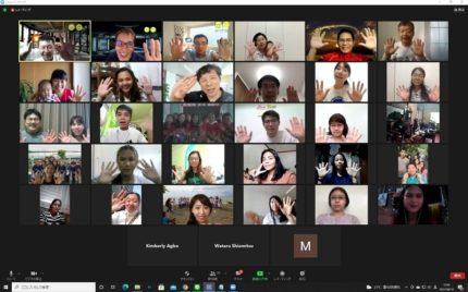 日比で約120人が参加した「オンライン・スタディーツアー2021 in Mindanao」